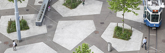 The swiss touch in landscape architecture banner